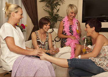 Bridal Treatments and Hen Parties Foot Massage